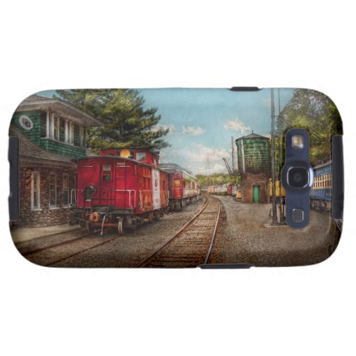 Train - Caboose - Tickets Please Samsung Galaxy SIII Cover