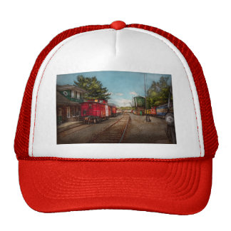 Train - Caboose - Tickets Please Hats