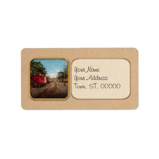 Train - Caboose - Tickets Please Label