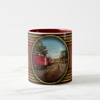 Train - Caboose - Tickets Please Coffee Mugs