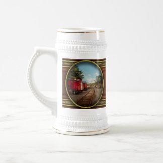 Train - Caboose - Tickets Please Coffee Mug