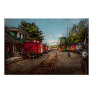 Train - Caboose - Tickets Please Poster