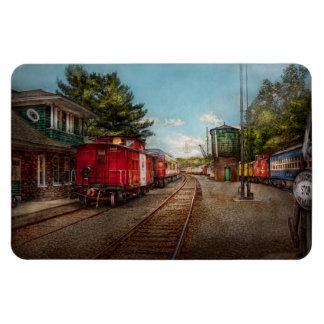 Train - Caboose - Tickets Please Rectangular Photo Magnet