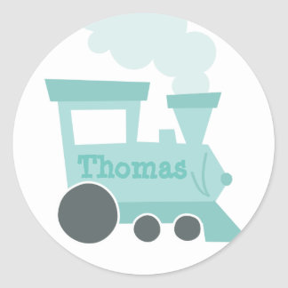 Train Car Stickers - Party Favors