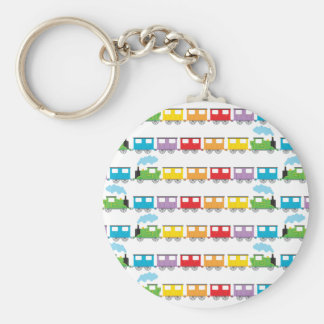 Train &  Carriages Keychain