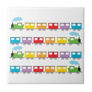 Train &  Carriages Tiles