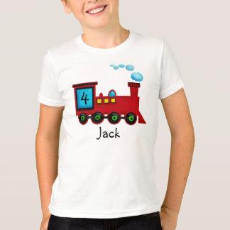 Train ChooChoo Birthday T-Shirt