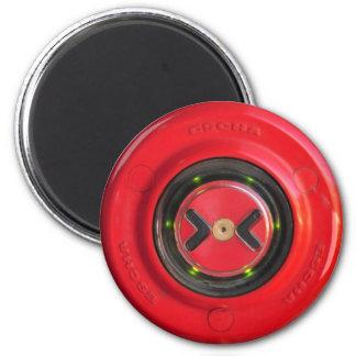 train close door red button magnet