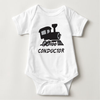 Train Conductor Baby Bodysuit