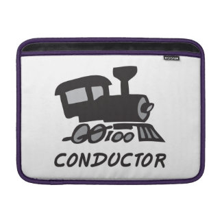 Train Conductor MacBook Sleeve