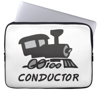 Train Conductor Laptop Sleeve