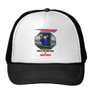 TRAIN CONDUCTOR - LIRR TRAIN - ELECTRIC TRAIN TRUCKER HAT