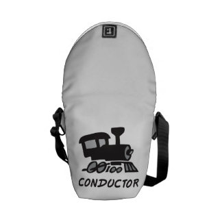 Train Conductor Courier Bag