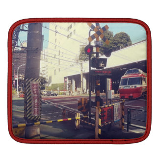 Train Crossing Japan ipad case