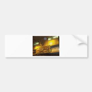 Train depot bumper sticker