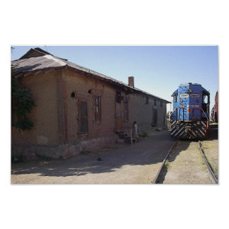 train depot poster