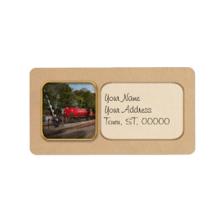 Train - Diesel - Look out for the Locomotive Custom Address Label