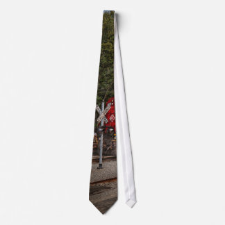 Train - Diesel - Look out for the Locomotive Neck Tie