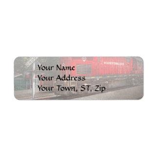 Train - Diesel - Morristown Erie Label