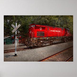 Train - Diesel - Morristown Erie Poster