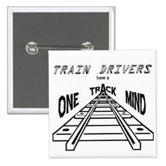 Train Drivers Pins