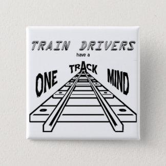 Train Drivers Pinback Button
