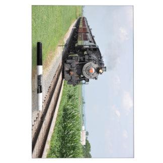 Train Dry Erase Whiteboard