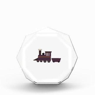 Train Engine Acrylic Award