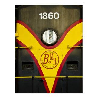 Train Engine BMH Postcard