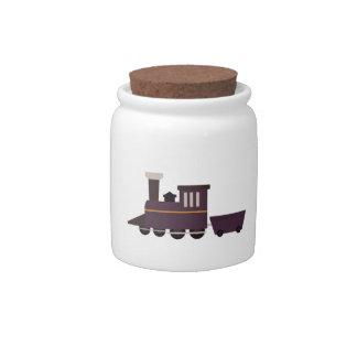 Train Engine Candy Dish