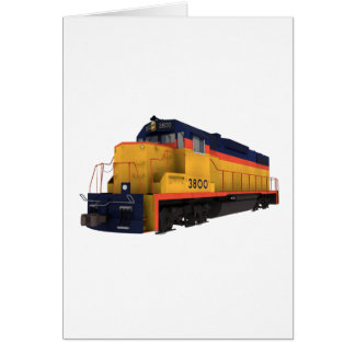 Train Engine: Chesapeake Color Scheme: Card
