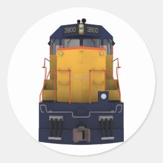 Train Engine: Chesapeake Color Scheme: Classic Round Sticker