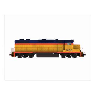 Train Engine: Chesapeake Color Scheme: Postcard