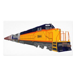 Train Engine: Classic Color Scheme: Photo Card