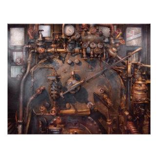 Train - Engine - Hot under the collar Flyer Design