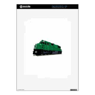 Train Engine Skin For iPad 2