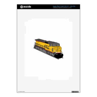 Train Engine Skin For iPad 3