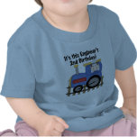 Train Engineer 2nd Birthday Tshirts and Gifts