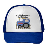 Train Engineer 2nd Birthday Tshirts and Gifts Hats