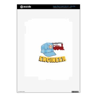 Train Engineer Skin For iPad 3