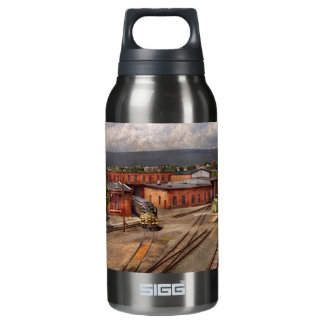 Train - Entering the train yard Insulated Water Bottle