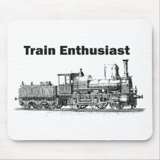 Train Enthusiast Mouse Pad