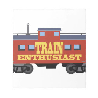 Train Enthusiast Notepad