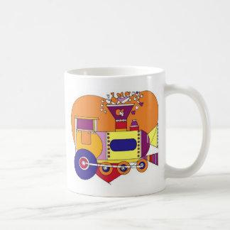 train for kids coffee mug