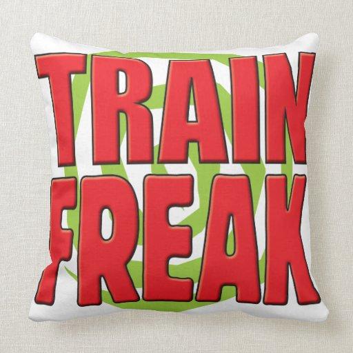 Train Freak R Pillows
