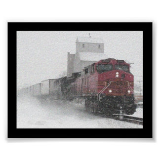 Train from no where poster