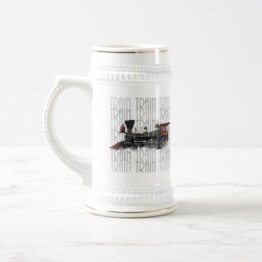 Train Gifts Mugs