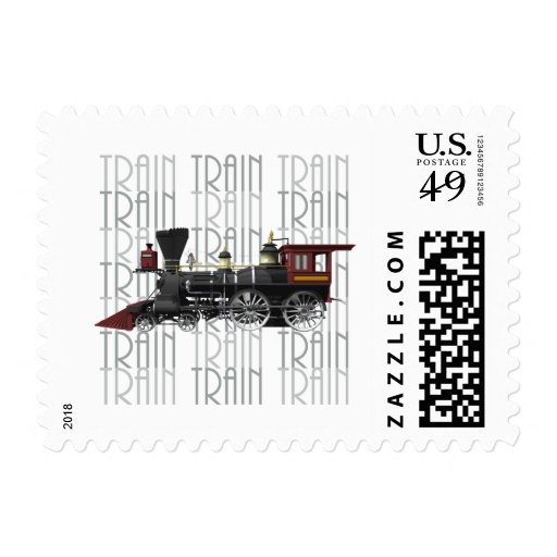 Train Gifts Stamp