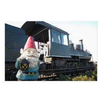 Train Gnome Stationery
