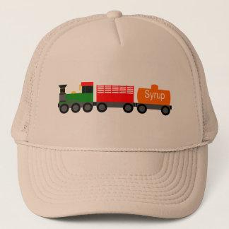 Train green trucker hat